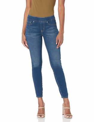 Signature by Levi Strauss & Co. Gold Label Signature by Levi Strauss & Co Women's Totally Shaping Pull On Skinny Jeans