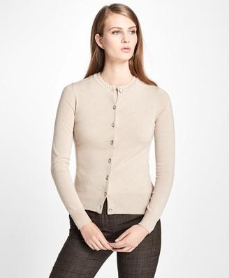 Brooks Brothers Long-Sleeve Cashmere Cardigan