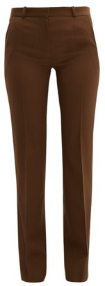 Pallas X Claire Thomson Jonville X Claire Thomson-jonville - Fulham Wool Twill Trousers - Womens - Brown