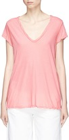 James Perse Garment dyed V-neck T-shirt