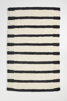 Anthropologie Tufted Perrin Rug By in Black Size 5X8