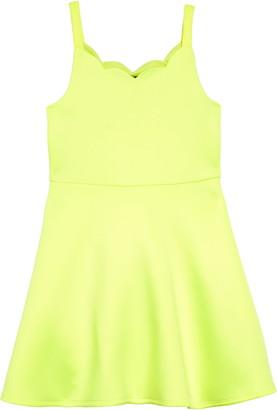 Zunie Scuba Skater Dress