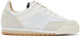 Spalwart White Pitch Low Sneakers