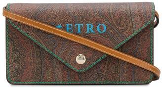 Etro Paisley Print Envelope Crossbody Bag