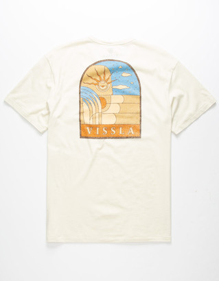 VISSLA Secret Society Mens Pocket Tee