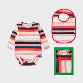 Paul Smith Baby Girls' 'Sunray Stripe' Playwear Set
