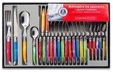 Laguiole Production 438580 Stainless Steel Set Handle, Set of 24, Multi-Colour