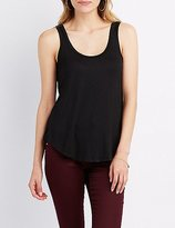 Charlotte Russe Scoop Neck Tank Top