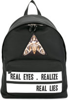 Givenchy 'Real Eyes Realise real Lies' backpack - men - Cotton/Calf Leather/Polyamide/Polyurethane - One Size