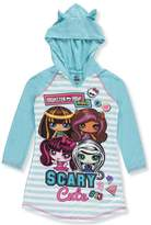 Komar Kids Monster High Minis Scary Cute Fleece Nightgown for girls (6/6X)