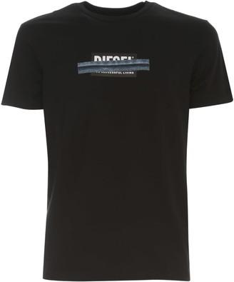 Diesel T Diegos X40 T-shirt S/s Crew Neck W/written