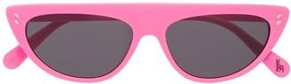 Stella McCartney Flat-Brow Sunglasses