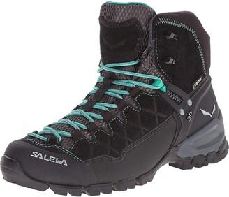 Salewa WS Alp Trainer Mid Gore-TEX Trekking & hiking boots Women's Black (Black Out/Agata) 6 UK