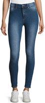 Cheap Monday Spray-On High-Rise Skinny Jeans, Medium Blue