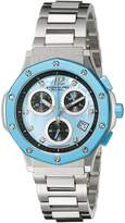 Stuhrling Original Women's 180.121181 Chronograph Date Swarovski Crystal Dial Watch