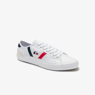 Lacoste Women's Sideline Tricolore Leather Sneakers