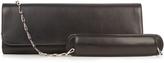Balenciaga Pochette M leather clutch