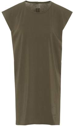 Rick Owens oversized cotton tank top