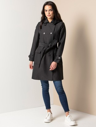 Ever New Jennie Long Trench Coat