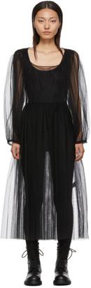Molly Goddard Black Bronwyn Dress