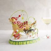 Pier 1 Imports Park Avenue PuppiesTM Wine Charms & Holder Set