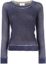 Allude cashmere faded effect jumper - women - Cashmere - M