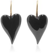 Tomas Maier Heart Earrings