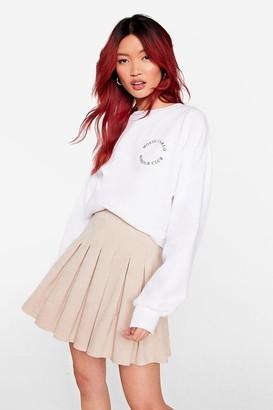 Nasty Gal Womens We're in Com-pleat Control Corduroy Mini Skirt - Beige - 14