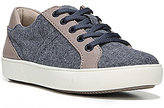 Naturalizer Morrison Denim Leather Detail Lace-Up Sneakers