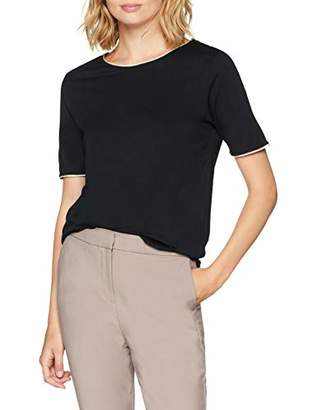 Selected Women's Slflucy Ss Tee B T-Shirt,(Manufacturer Size: Small)
