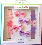 Munchkin Hair Accessories , Children's Head Bands and Baby Clips Gift Set (VARIATION 3)