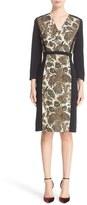 Etro Fern Paisley Print Cady Dress