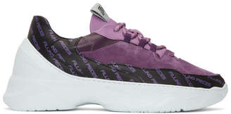 Filling Pieces Purple Orion Shuttle Low Sneakers