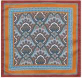 Eton Silk African Paisley Pocket Square