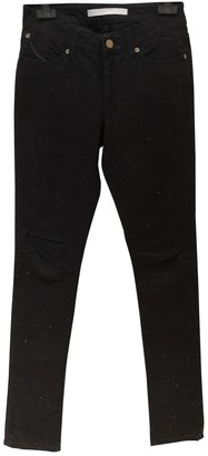 Superfine Black Cotton - elasthane Jeans for Women