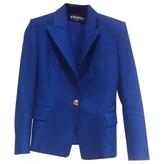Balmain Blue Cotton Jacket