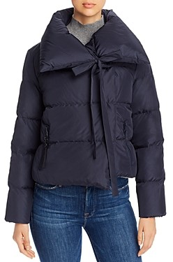Bacon Oversized Cropped Down Coat
