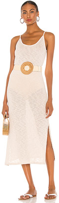Majorelle Midi Slip Dress