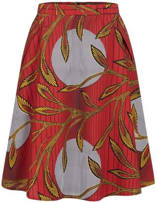 Marianna Déri Blue Moon A-Line Skirt