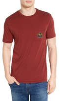 Brixton Men's Turret Graphic Pocket T-Shirt
