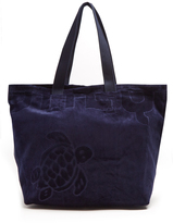 Vilebrequin Barney terry-towelling tote