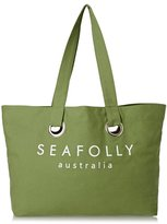 Seafolly Carried Away Eyelet Tote