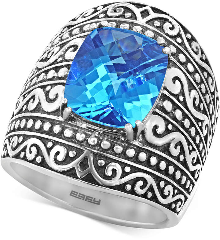 Effy Balissima by Blue Topaz (6-2/3 ct. t.w.) Ring in Sterling Silver