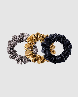 Slip Women's Neutrals Hair Tools - Large Scrunchies - Size One Size at The Iconic