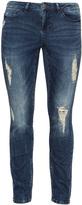 Junarose Plus Size Distressed slim fit jeans