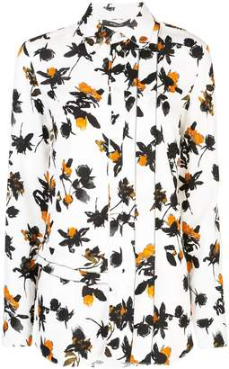 Derek Lam Floating Floral printed blouse
