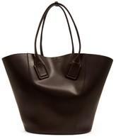 Bottega Veneta Basket Large Leather Tote Bag - Womens - Brown