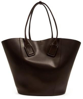 Bottega Veneta Basket Large Leather Tote Bag - Brown