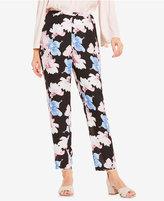 Vince Camuto Floral-Print Soft Pants