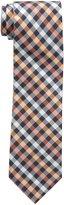 U.S. Polo Assn. Men's White Check Tie